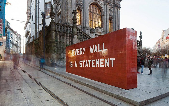 Every Wall is a Statement